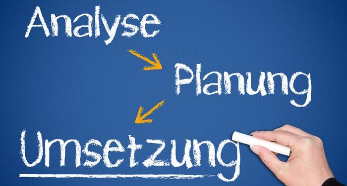 Analyse-Planung-Umsetzung